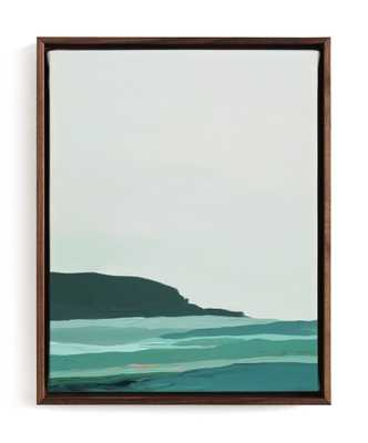 Abstract Pacific Seascape Diptych 2 Art Print - Minted