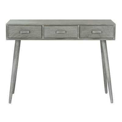 "Lujan 3 Drawer 41.75"" Console Table - Wayfair"