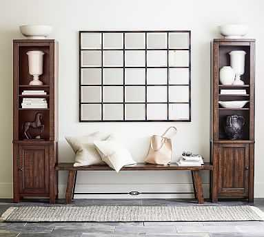 Benchwright 3-Piece Entryway Set with Dining Bench - Pottery Barn