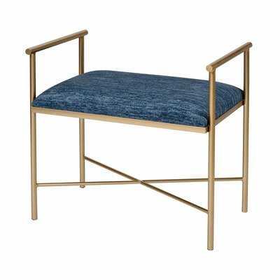 Ogden Metal Bench - Wayfair