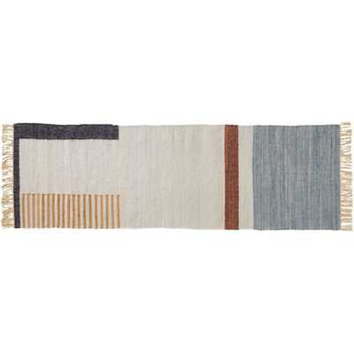 Array Handwoven Recycled Runner 2.5'x8' - CB2