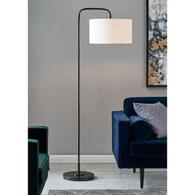 Lite Source Orea Black Metal Stem Floor Lamp - Style # 276D0 - Lamps Plus