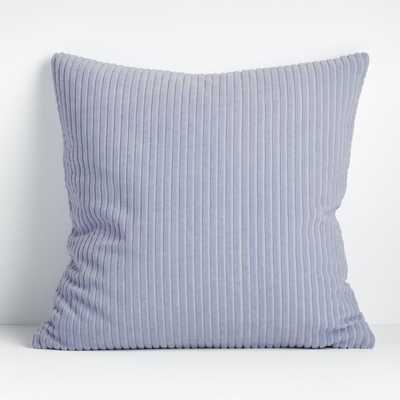 Rae 23? Light Blue Pillow Cover - Crate and Barrel