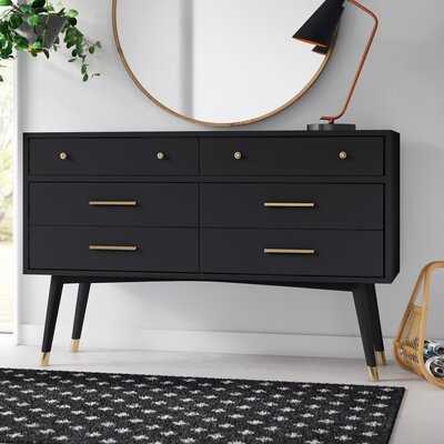 Winhall 6 Drawer Double Dresser - AllModern