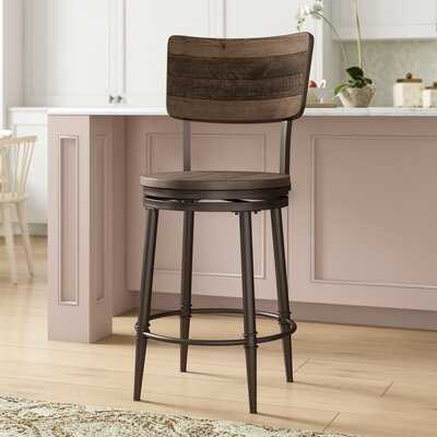 Putney Swivel Bar & Counter Stool - Wayfair