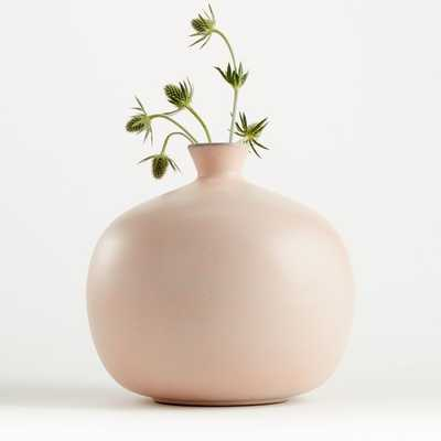 Mireya Blush Vase (limited quantities) - Crate and Barrel