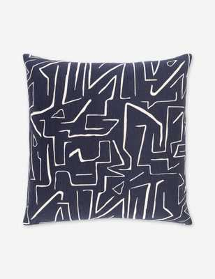 Emi Throw Pillow, Black - Lulu and Georgia