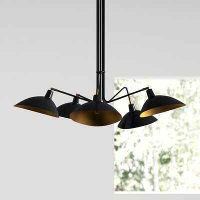 Luz 5 - Light Shaded Classic/Traditional Chandelier - AllModern