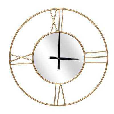 "Oversized Ady 31.5"" Wall Clock - Wayfair"