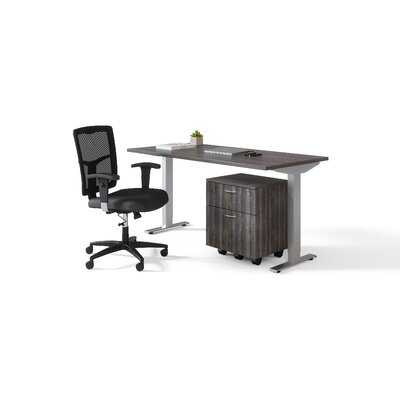 Argelis Height Adjustable Standing Desk - Wayfair