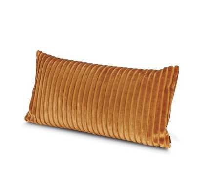Missoni Home Coomba Lumbar Throw Pillow Color: Orange - Perigold