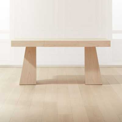 Ridge Bleached Oak Desk - CB2