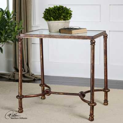 Warring Iron End Table - Hudsonhill Foundry