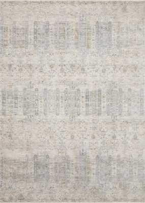 "Loloi Pandora PAN-02 Ivory / Mist 7'-10"" x 10' - Loma Threads"