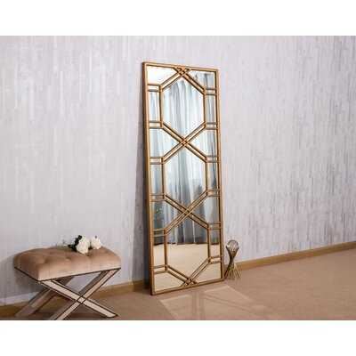 Oaklynn Glam Beveled Full Length Mirror - Wayfair