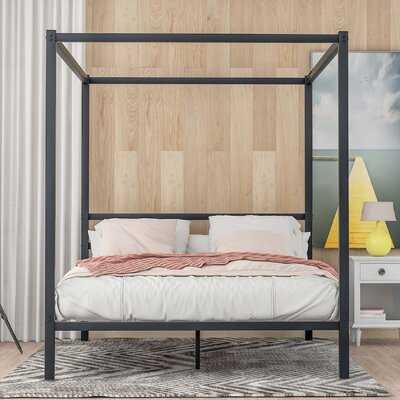 Preusser Queen Canopy Bed - Wayfair