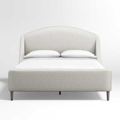 Lafayette Mist Upholstered Queen Bed - Crate and Barrel