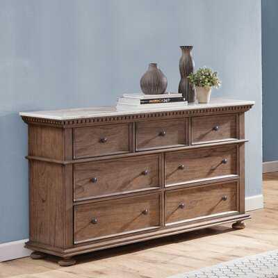 Rawlins 7 Drawer Double Dresser - Birch Lane