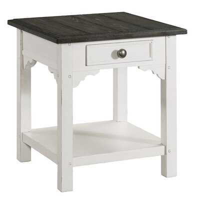Gritton End Table with Storage - Wayfair