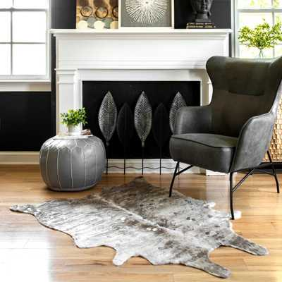 Tinley Spotted Faux Cowhide Area Rug - Loom 23