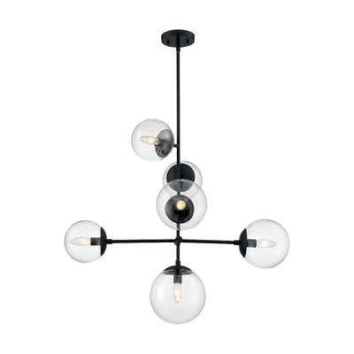 Yang 6 - Light Sputnik Modern Linear Chandelier - Wayfair