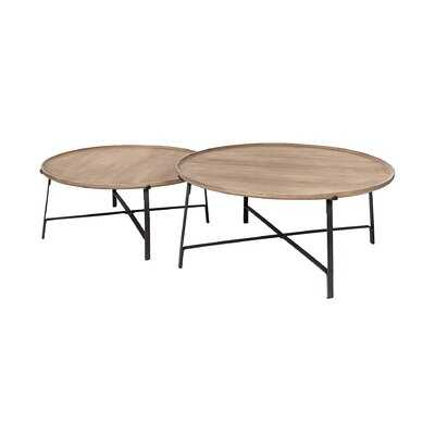 Lynnette 2 Nesting Coffee Tables - Wayfair