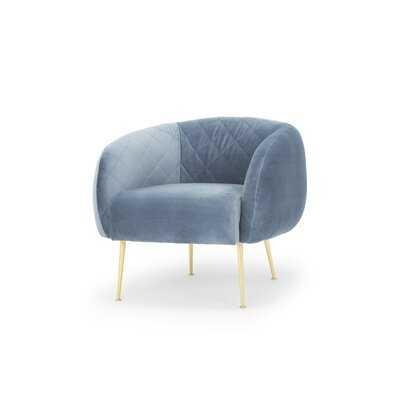 Bumgardner Velvet Chair - AllModern
