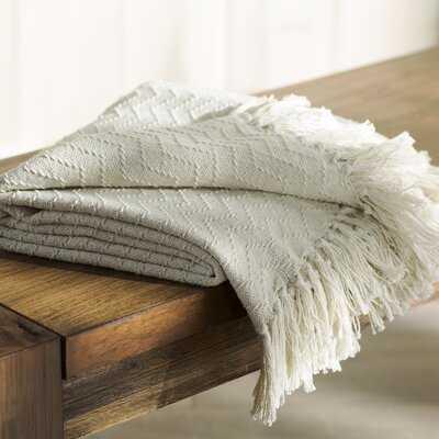 Helman Cotton Throw Blanket - AllModern