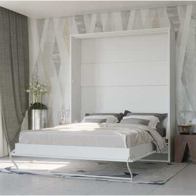 Loxley Wall King Murphy Bed with Mattress - Wayfair