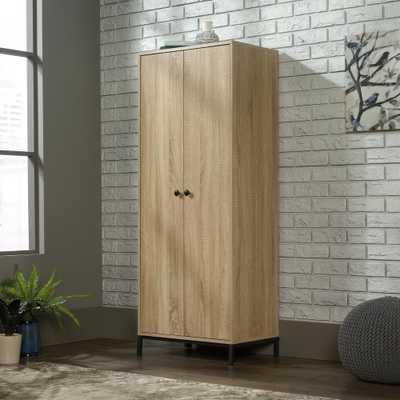 SAUDER North Avenue Charter Oak Storage Cabinet - Home Depot