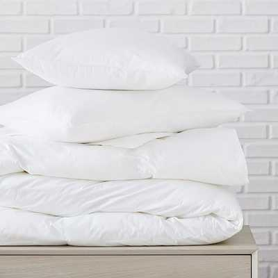 Blended Down Alternative Duvet & Pillow, King Duvet & King Pillows, Extra Warm/Soft - West Elm