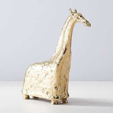 Decorative Horse Objects, Large, Brass - West Elm