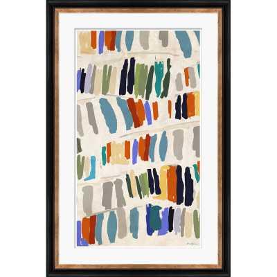 Soicher Marin 'Library, Blue' Print - Perigold