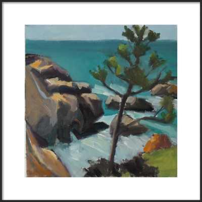 California Coast, Rocks and Ocean by Marie Freudenberger for Artfully Walls - Artfully Walls