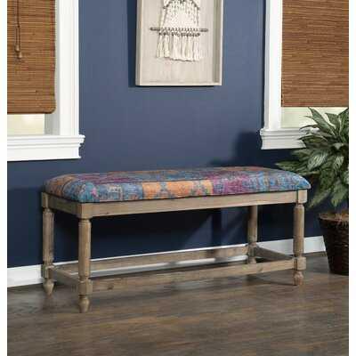 Naida Solid Wood Bench - Wayfair