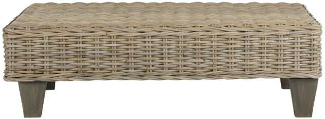 Leary Bench - Natural Unfinished - Arlo Home - Arlo Home