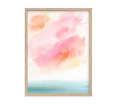 Minted(R) Sherbet Sky Wall Art by Lindsay Megahed; 18x24, Natural - Pottery Barn Kids
