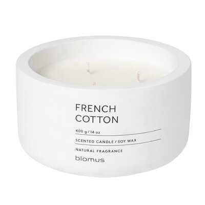 French Cotton Scented Jar Candle - Birch Lane