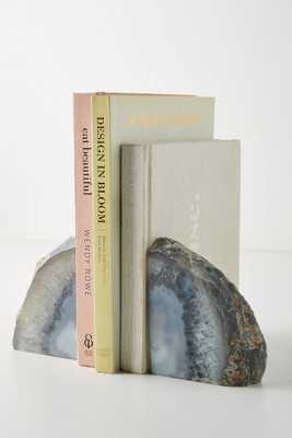 Agate Crystal Bookends - Anthropologie
