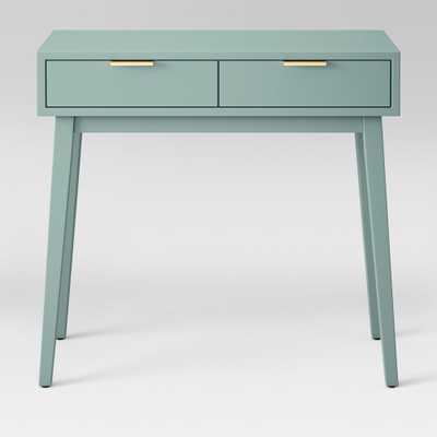 Hafley Two Drawer Console Table Smoke Green - Project 62 , Grey Green - Target