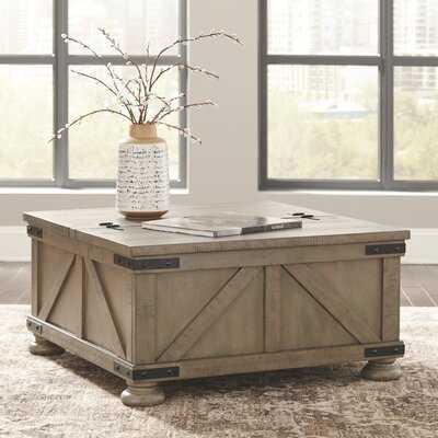 Emiliano Lift Top Coffee Table with Storage - Wayfair