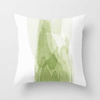 transparent 3 - green Throw Pillow - Society6