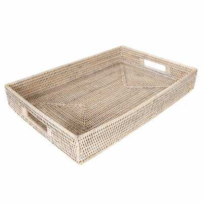 Rattan Coffee Table Tray - Birch Lane