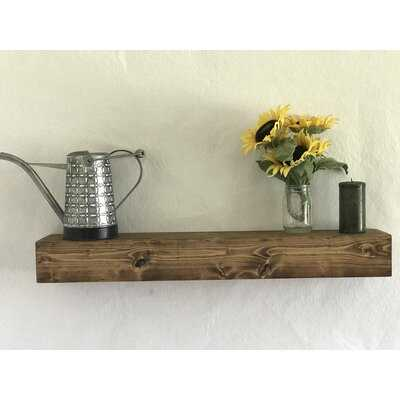 Oldfield New Wood Floating Shelf - AllModern