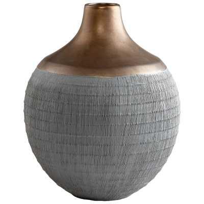 "Cyan Design Osiris Table Vase Size: 8.25"" H x 6.75"" W x 6.75"" D - Perigold"