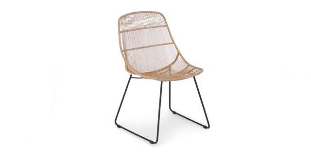 Selka Natural Dining Chair - Article