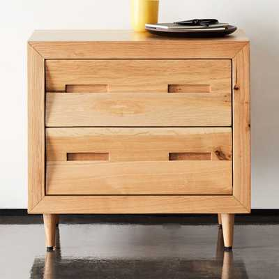 Nomi Oak Nightstand - CB2