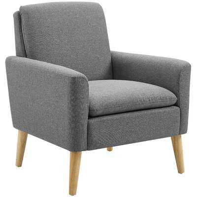 """Skiles 29"""" W Linen Armchair - Wayfair"""