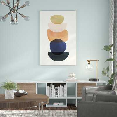 'Mod Pods II' Painting on Canvas - Wayfair