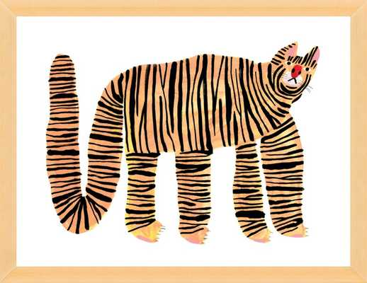 Big Cat by Penny Min Ferguson for Artfully Walls - Artfully Walls